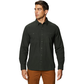 Mountain Hardwear Catalyst Edge Longsleeve Shirt Heren, black sage